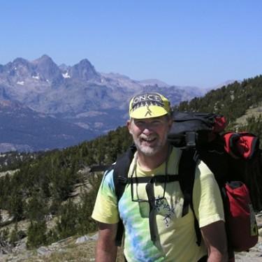 Tom Alber in the High Sierras